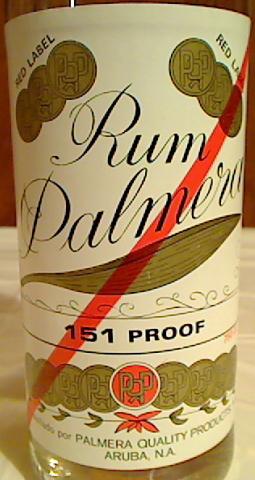 Rum Palmera Red Label ...